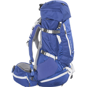 The North Face Terra 55 Backpack Women sodalite blue/high rise grey